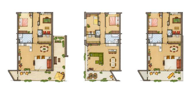 Cursus plattegrond en schaal tekenen perspectief tekenen for Huis inrichten op schaal