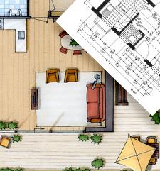 Cursus overzicht en aanbod perspectief tekenen interieur for Interieur tekenen