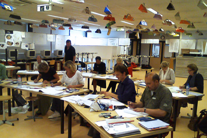 Cursus interieur tekenen perspectief ook tekencursus for Interieur cursus